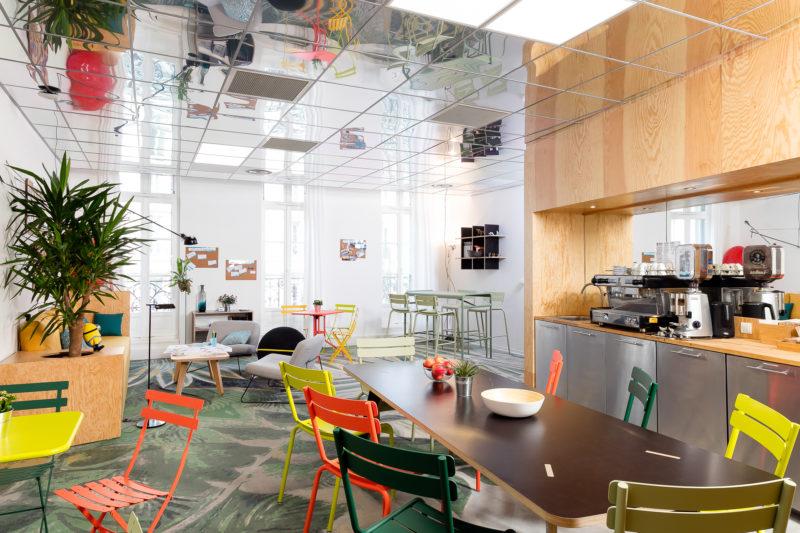 Une cuisine partagée dédiée aux rencontres entre entrepreneurs à l'espace de coworking Marseillais ILovIT