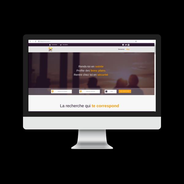 Développement d'un site web de covoiturage comme Blablacar par Reactic