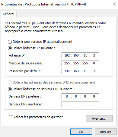 configurer-l'interface en recopiant cette configuration